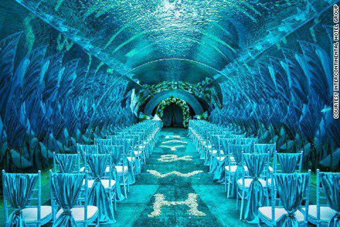 Underwater Corporate Event