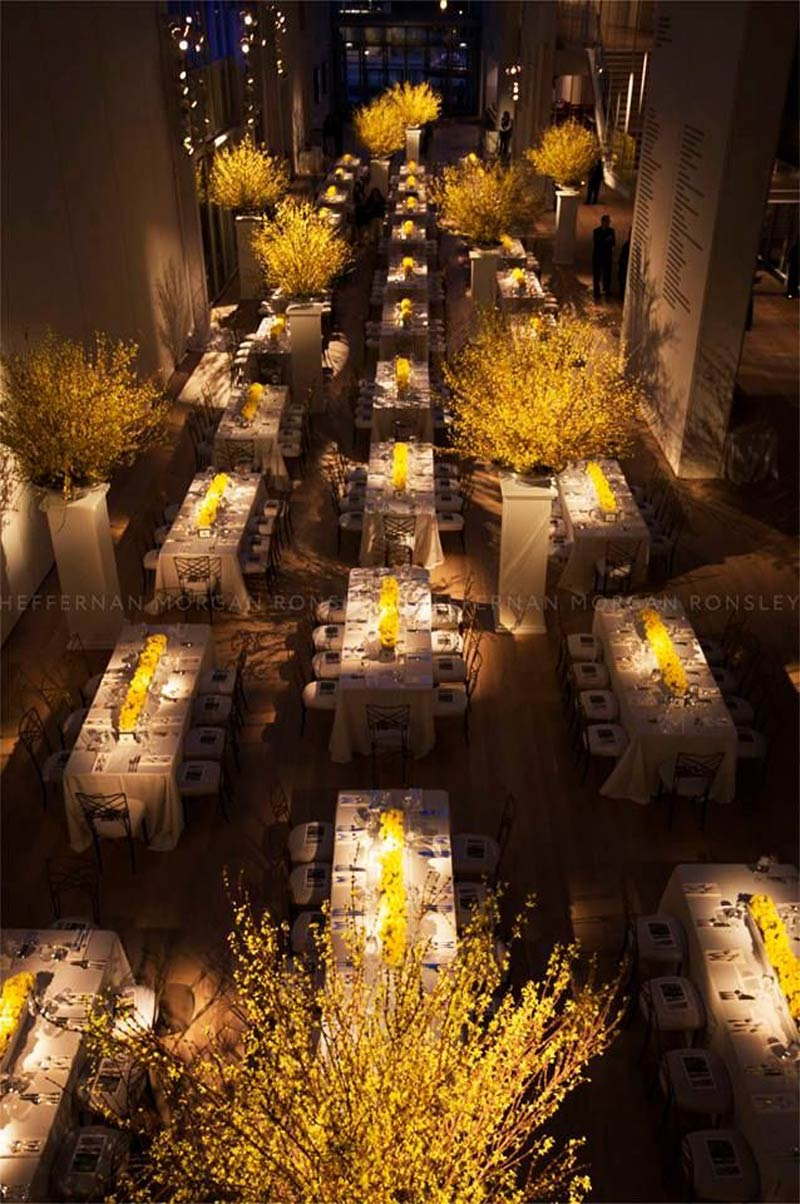 Corporate Event Inspiration Interesting Table Layouts