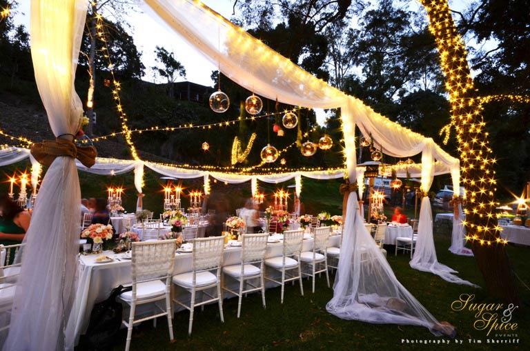 Sugar and spice events fairylight wonderland wedding junglespirit Choice Image