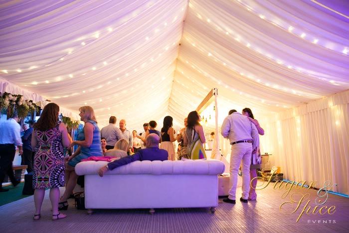 Real Enchanted Garden Wedding Kelly Steve: Gold Coast Marquee Wedding
