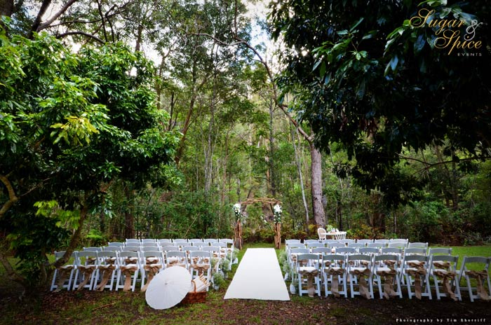 Sugar And Spice Events Wedding Ceremony Hire