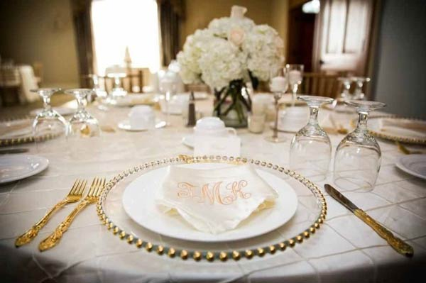 Sugar And Spice Events Glass Charger Plates For Hire