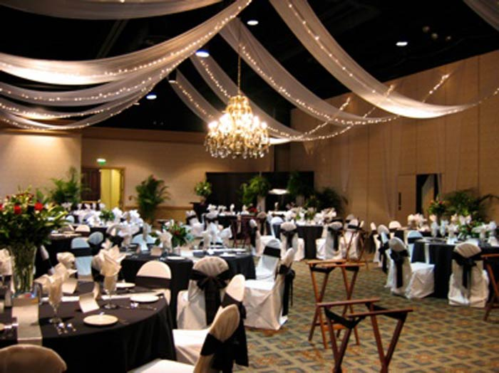 Sugar And Spice Events Ceiling Draping